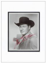 Joel McCrea Autograph Signed Photo